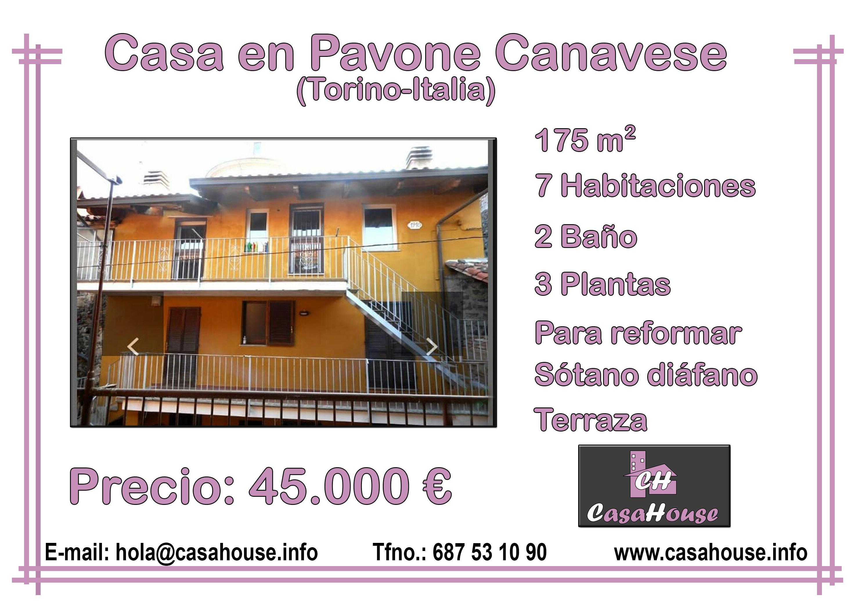 Pavone Canavese Torino Italia Casahouse